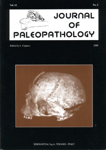 "Cover of ""JoP  Vol. 12  n.2 - 2000"""