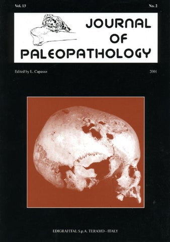 "Cover of ""JoP  Vol. 13  n.2 - 2001"""