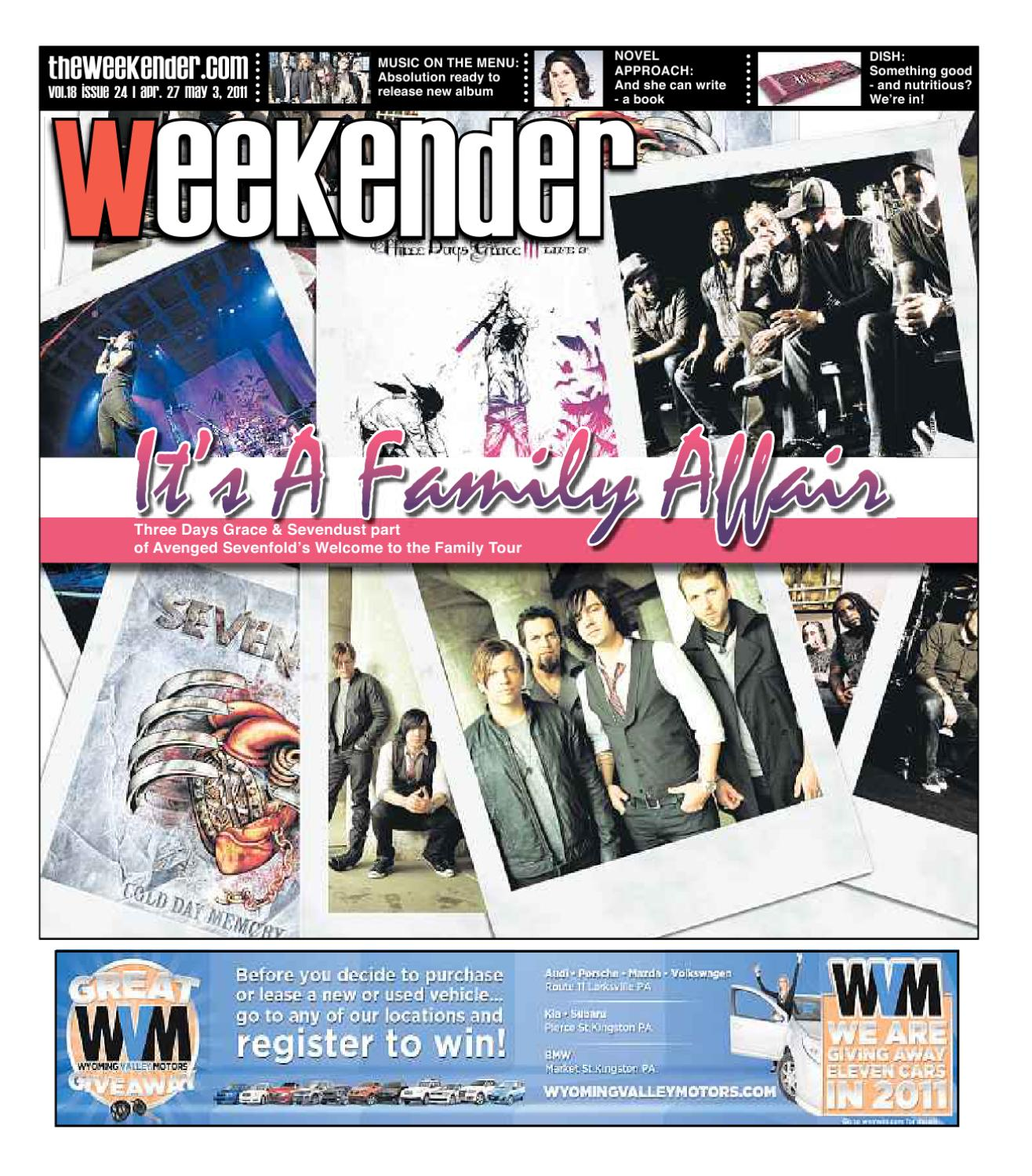 c2a7140b9 The Weekender 04-27-2011 by The Wilkes-Barre Publishing Company - issuu