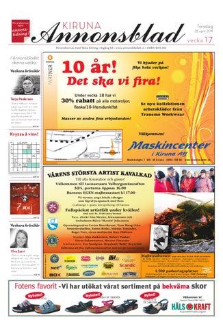 super popular 998a6 c2e22 Kiruna Annonsblad 2011 v.17