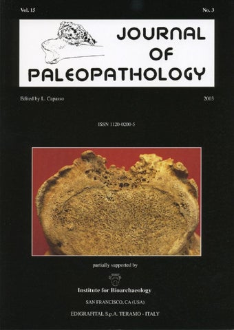 "Cover of ""JoP  Vol. 15  n.3 - 2003"""