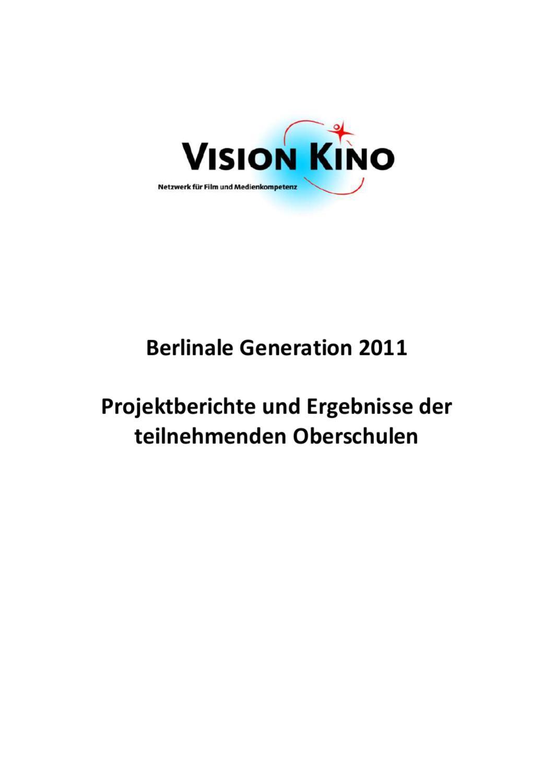 Berlinale 2011 OS Gesamtbericht by VISION KINO - issuu
