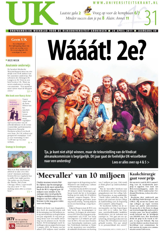 uk 31 - 28 april 2011 | jaargang 40 by ukrant nl - issuu