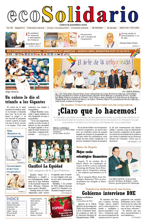 ecoSolidario 58 by Ecosolidario - issuu