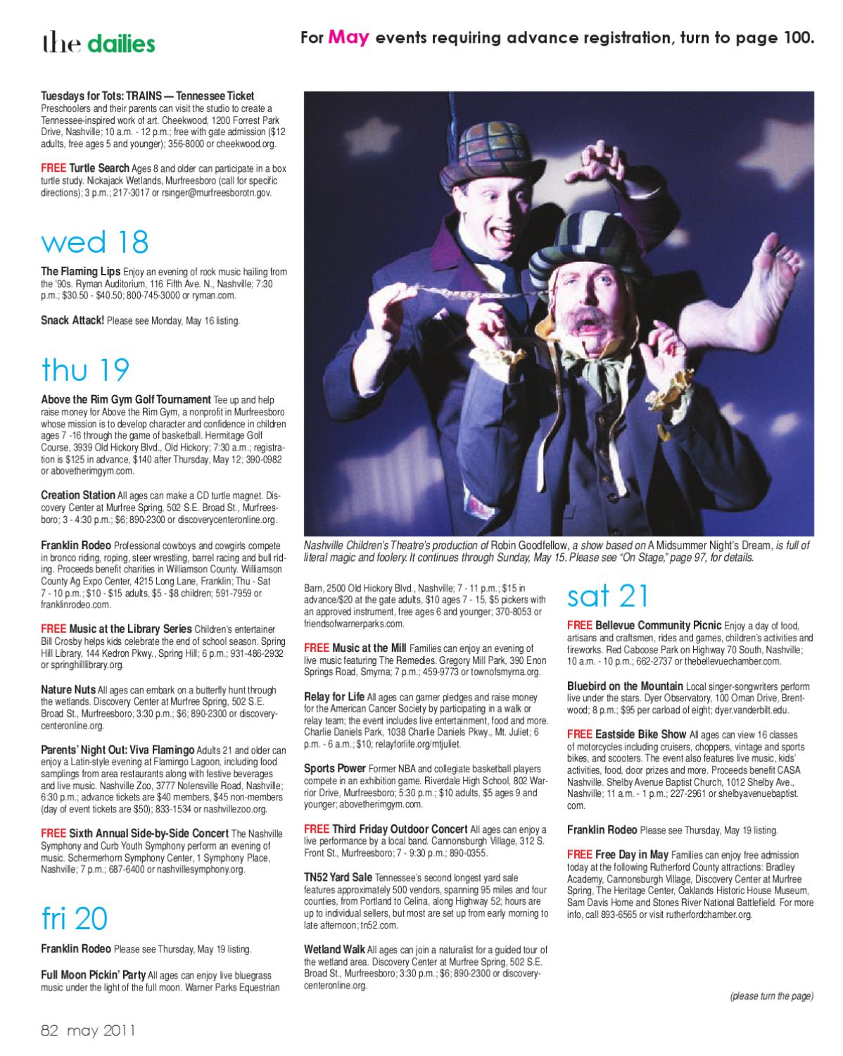 Rutherford Parent Magazine - May 2011