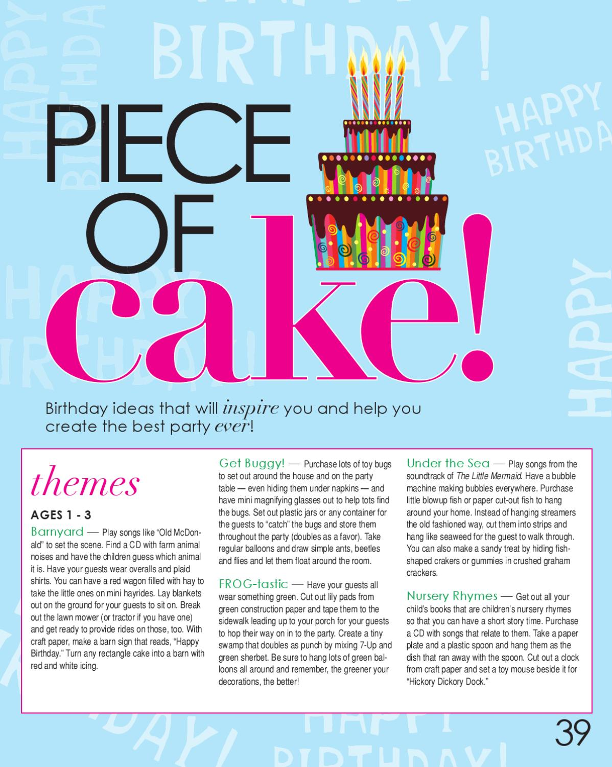 Sumner Parent Magazine - May 2011 by Day Communications