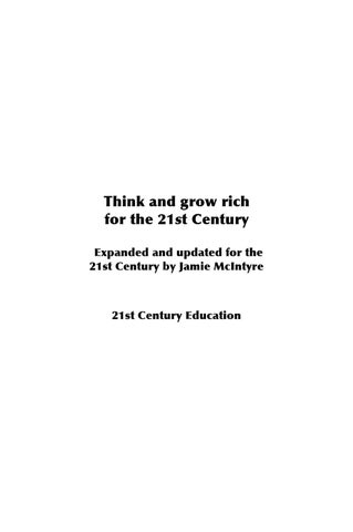 Think grow rich ebook by tendame issuu page 1 fandeluxe Image collections