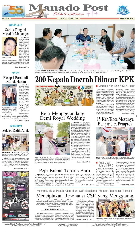 Manado Post By Issuu Krezi Kamis 25 Baju Koko Al Achwan Original Banyak Model