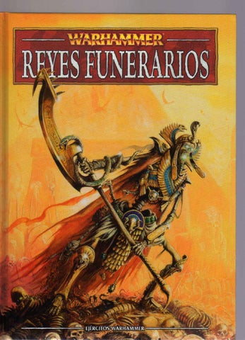 codex reyes funerarios warhammer