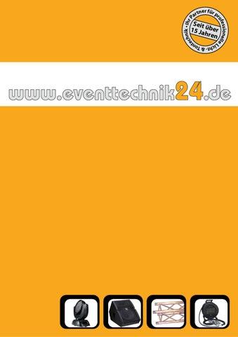 Schon Eventtechnik24.de   Produkt Katalog By Stefan Nitsch   Issuu