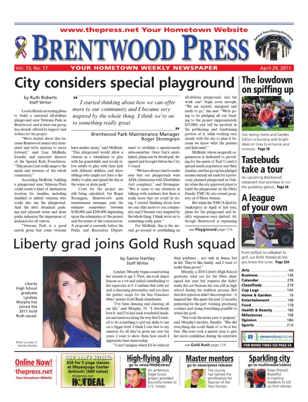 0c21fd960c7f Brentwood Press 04.29.11 by Brentwood Press   Publishing - issuu