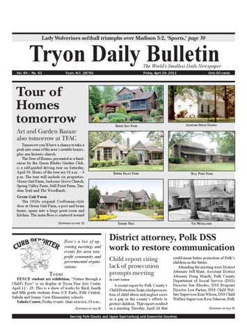4cea7862476d 04-29-11 Daily Bulletin by Tryon Daily Bulletin - issuu