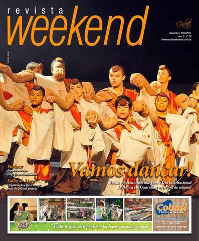 b9aa600d3bf Revista Weekend - Edição 76 by Carleto Editorial - issuu