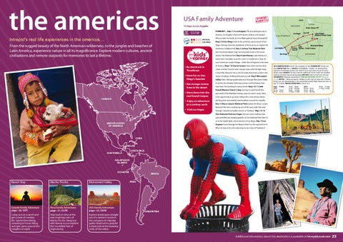 Intrepid Travel The Americas Family Holidays, by TravelRope