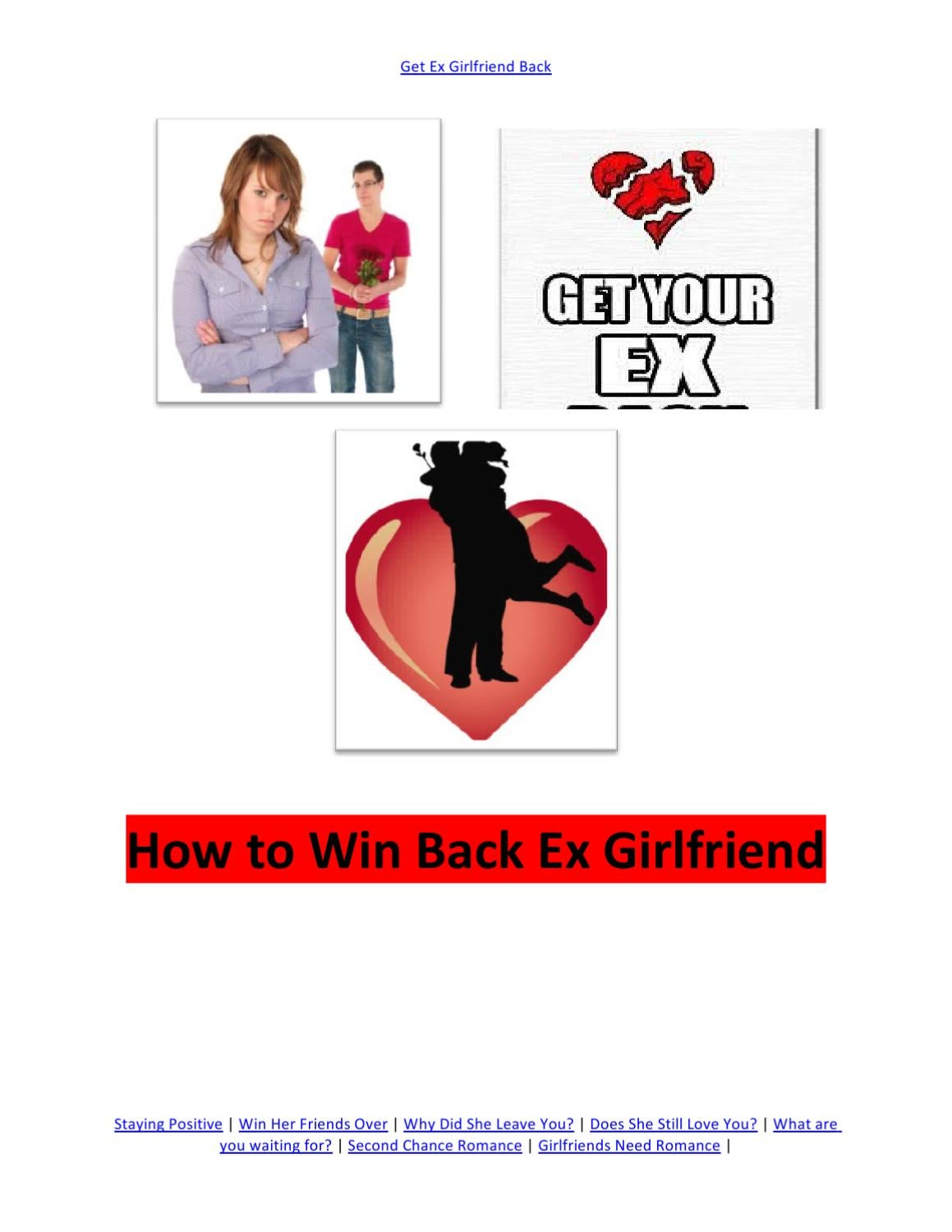 Ex win girlfriend back How To