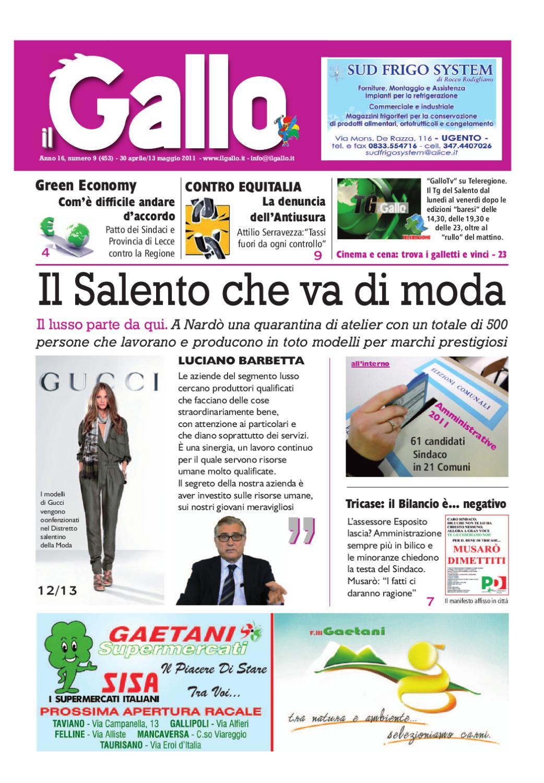 Ilgallonumero9edizionenord By Giornale Ilgallo Issuu