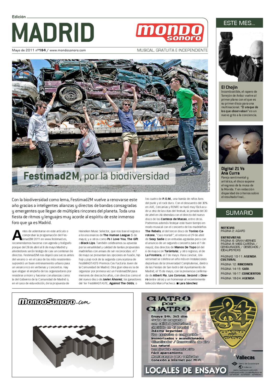 Sonoro Madrid 2011 Sonoro Mondo Mayo Mondo Mayo Madrid Mayo Mondo Sonoro 2011 Madrid UpGSMLqzV
