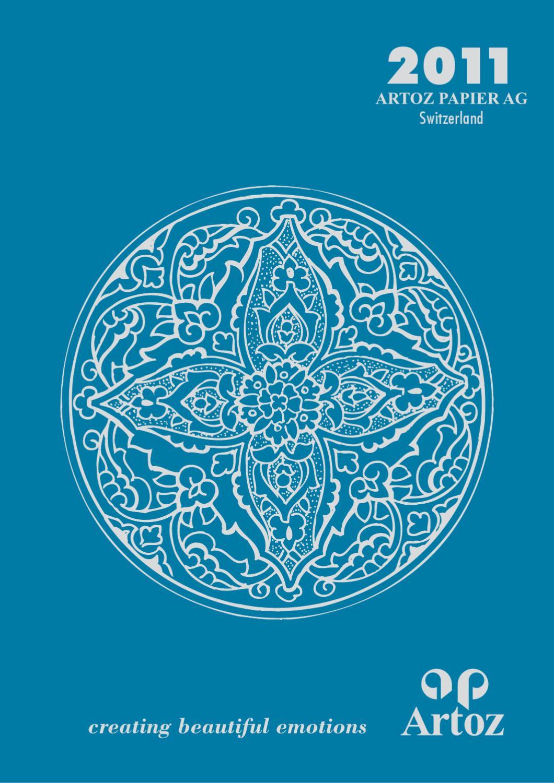 bleu vert rond Combo Cluster ARTOZ illustration sticker turquoise