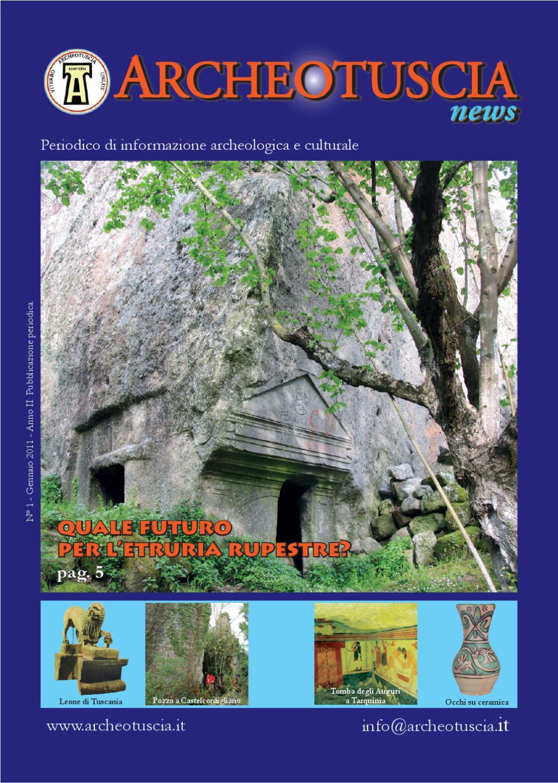 Archeotuscia news N.1 2011 by Laura patara issuu