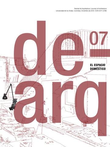 Dearq 07. El espacio doméstico by Dearq - issuu fd82371bafd