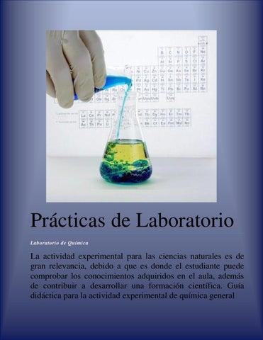 Practica Laboratorio de Química Bachillerato by elizabeth vallejos ...