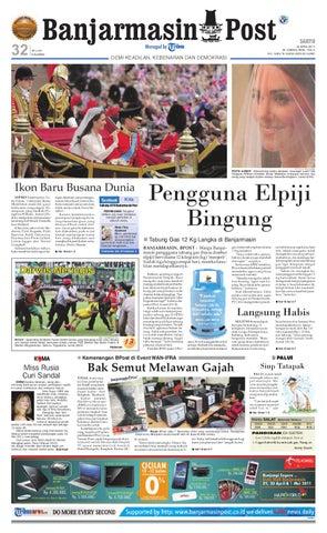 Banjarmasin Post Edisi Cetak Sabtu 30 April 2011 by Banjarmasin Post ... 25de5b1f95