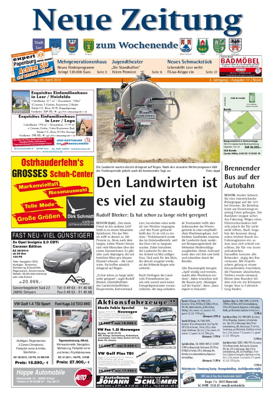 Neue Zeitung - Ausgabe Nord KW 17 by Gerhard Verlag GmbH - issuu