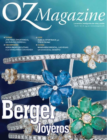 Oz Magazine 26 Berger Joyeros By Eduardo Martinez Lanz Issuu