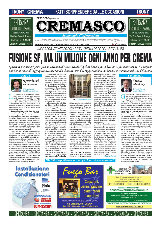 Il Piccolo del Cremasco by promedia promedia - issuu 4d116b92a28
