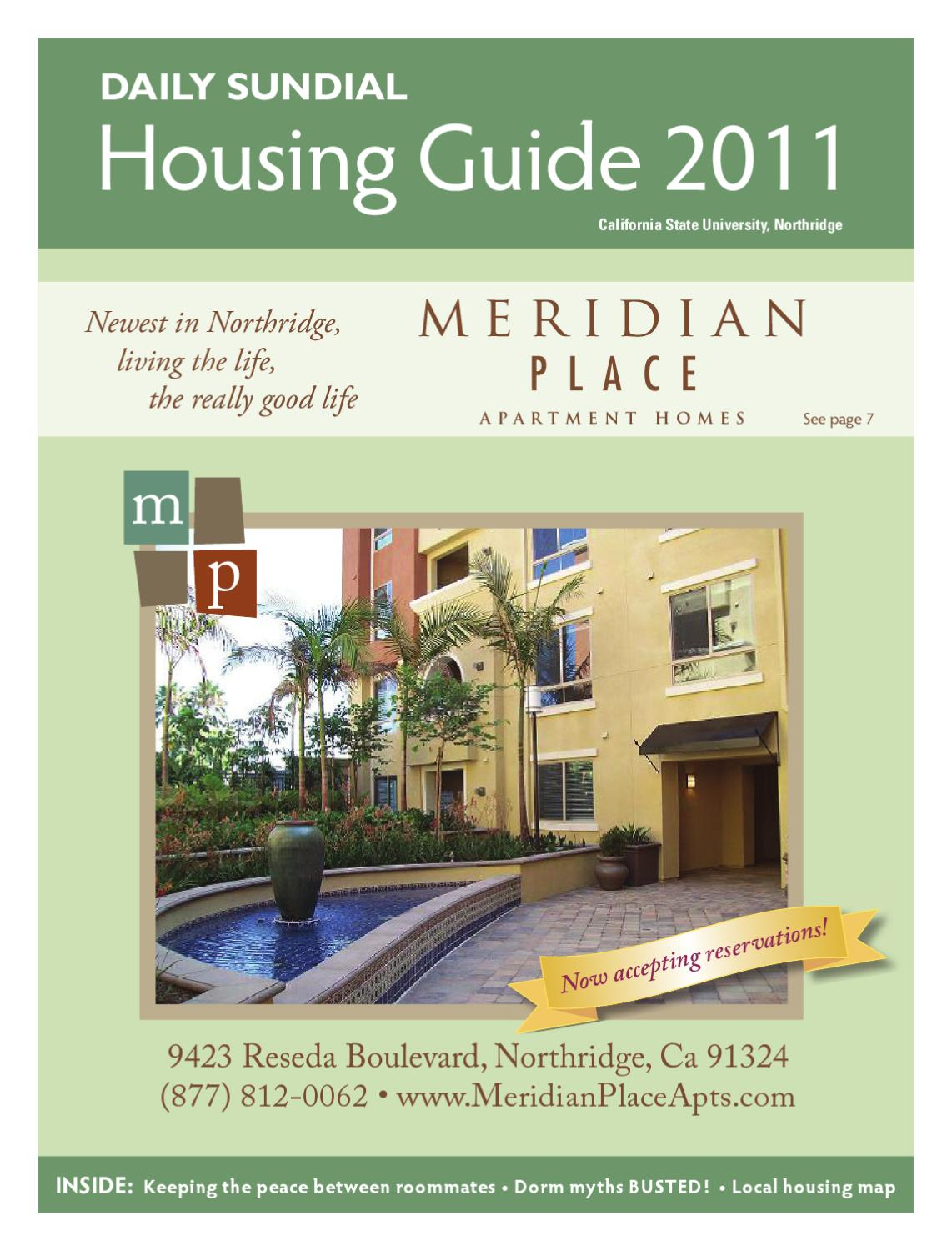 CSUN Housing Guide 2011 by The Sundial - issuu