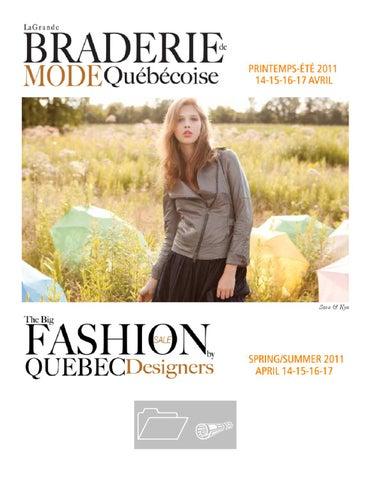 be3290083eac Revue de presse  La Grande Braderie de mode québécoise, édition  printemps-été 2011 (Montréal)