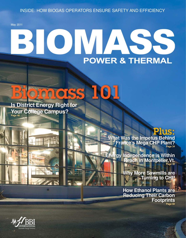 May 2011 Biomass Power & Thermal by BBI International - issuu