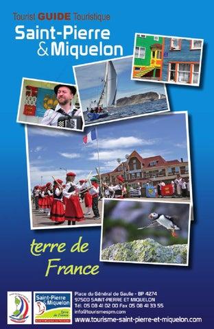 Saint pierre et miquelon tourist guide touristique by - Office tourisme saint pierre de chartreuse ...