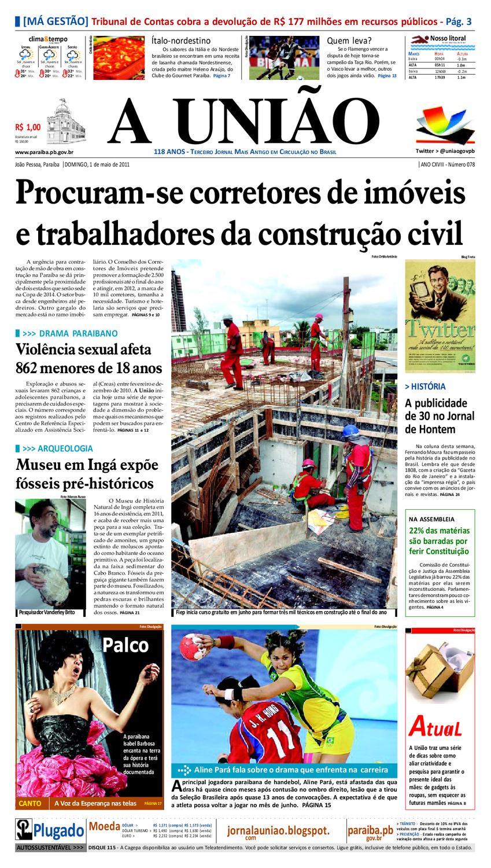 Jornal A UNIÃO by Jornal A União - issuu 851988cbef66c