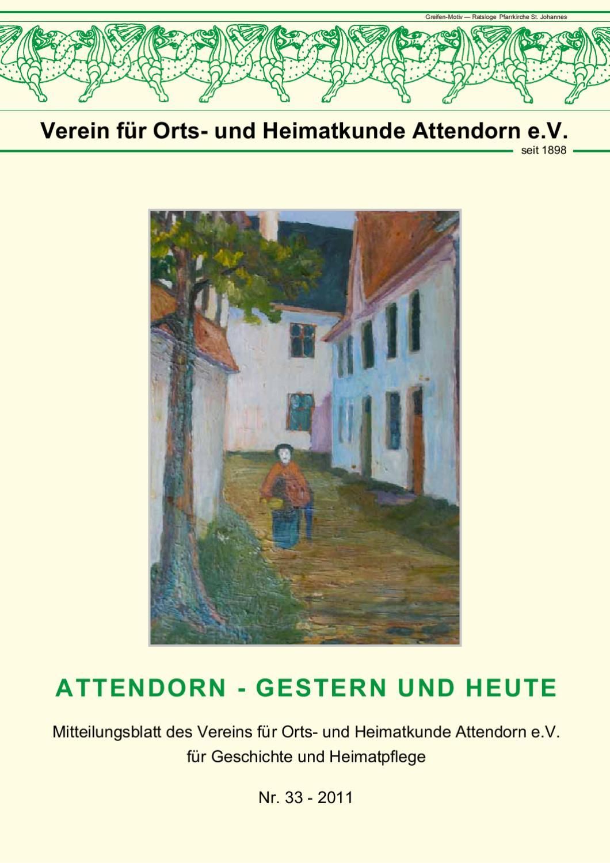 Verein für Heimatkunde - Nr. 33 by FREY PRINT + MEDIA GmbH - issuu