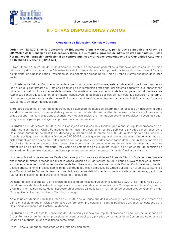 Materias De Bachillerato Prioritarias Para Fp By Ies Al