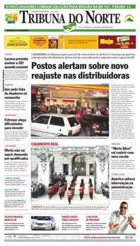 Tribuna do Norte - 29 04 2011 by Empresa Jornalística Tribuna do ... b43f98986d2