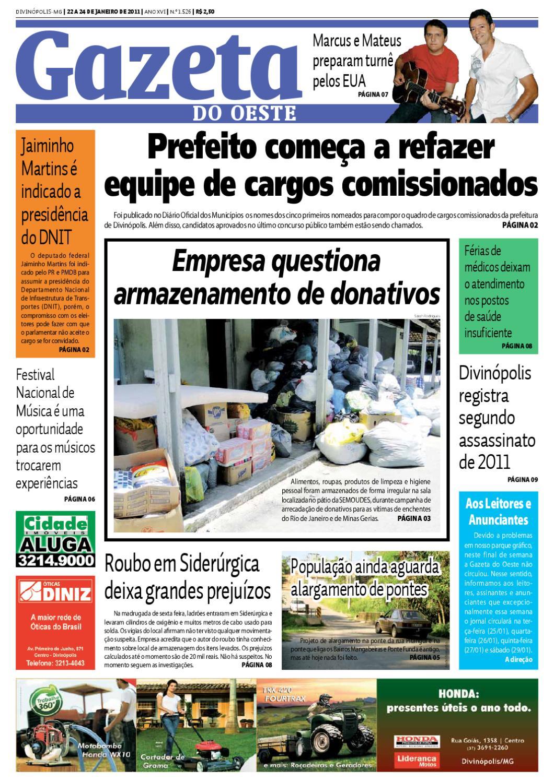 Gazeta do Oeste - Edição 1526 by Portal G37 - issuu 2c576d2d41