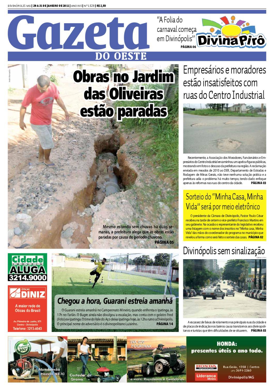 Gazeta do Oeste - Edição 1529 by Portal G37 - issuu f877087330