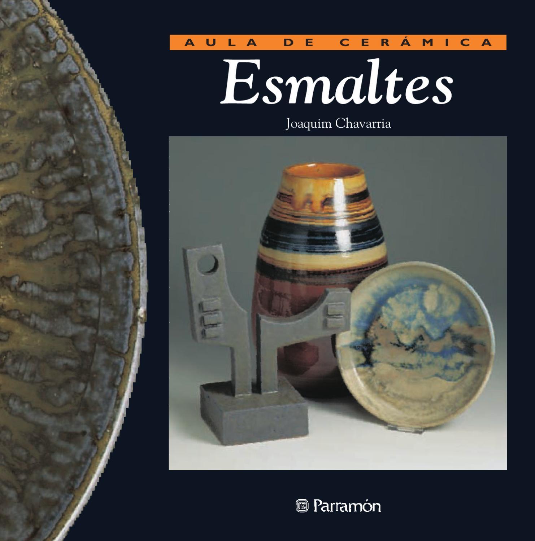 Aula de cer mica esmaltes by parram n ediciones s a Esmalte para ceramica