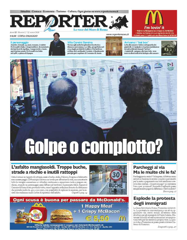 Di Tommaso Arredamenti Ostia reporter news 5 2010 by reporter news - issuu