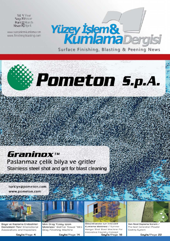 Surface Finishing Blasting And Peening Magazine By Surfacefinishing