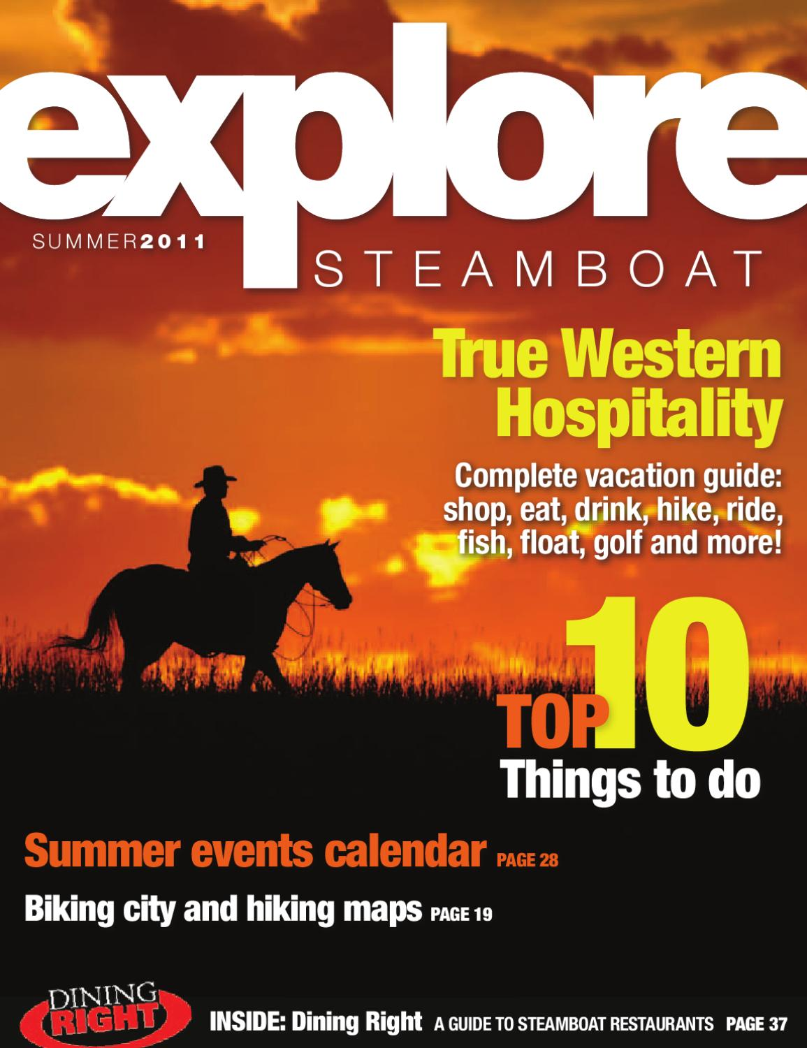 Explore Steamboat Summer 2011 by Steamboat Pilot Today issuu