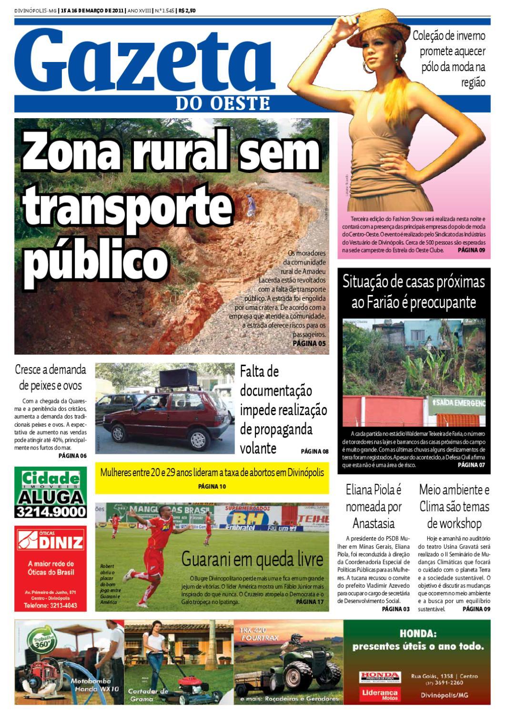 e169e9ba8 Gazeta do Oeste - Edição 1545 by Portal G37 - issuu