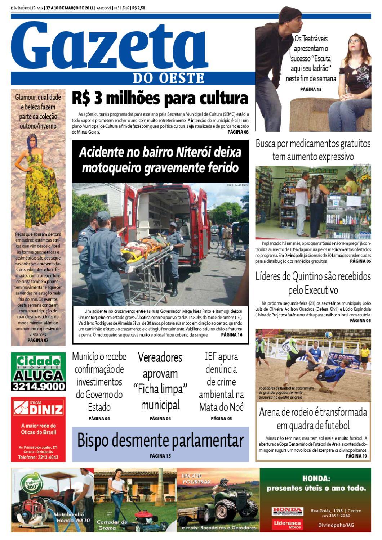 b5a5c28d9064d Gazeta do Oeste - Edição 1546 by Portal G37 - issuu