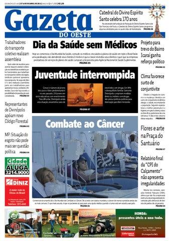 8b0c0c044 Gazeta do Oeste - Edição 1555 by Portal G37 - issuu
