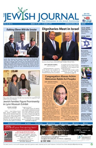 Jewish Journal, Vol. 20, Issue 16, March 17, 2011 by The Jewish ... 6cc93ccfbde9