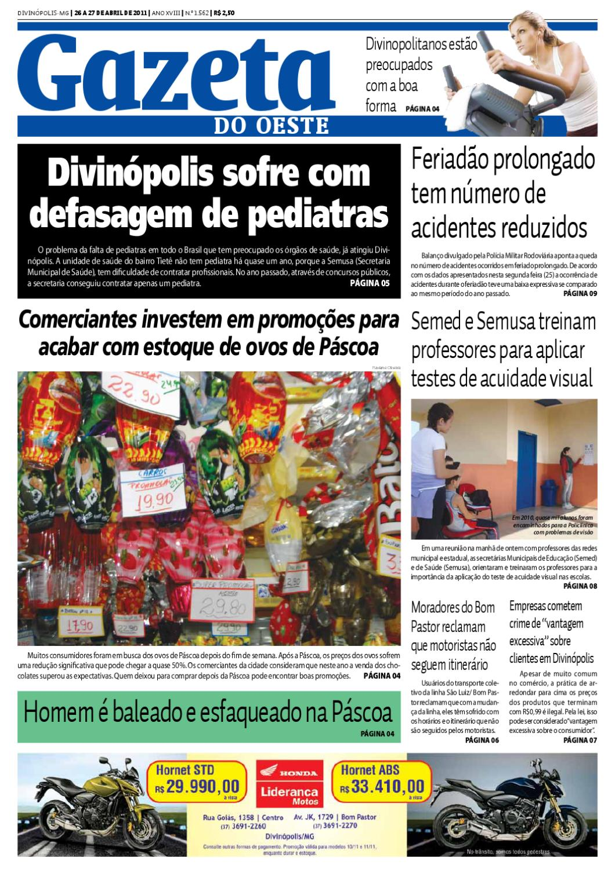 34b3e5b678149 Gazeta do Oeste - Edição 1562 by Portal G37 - issuu