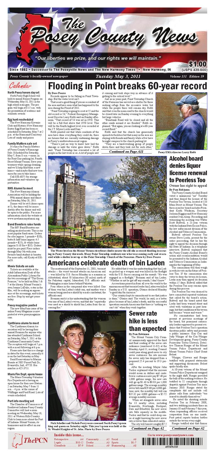 The Posey County News May 3 2011 Edition By 2007 Mitsubishi Raider Trailer Wiring Issuu