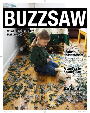 The Militarization Issue by Buzzsaw Magazine - issuu